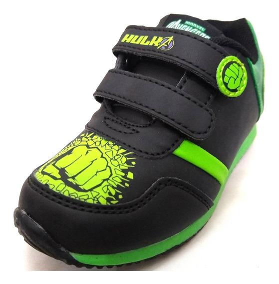 Zapatillas Marvel Hulk Con Abrojo Nueva Temporada