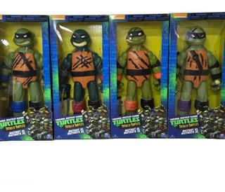 Tortugas Ninja 4 Figuras Personajes Spin Master