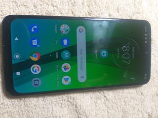 Celular Moto G7 64gb Com Um Trinco Pequeno Funcionando