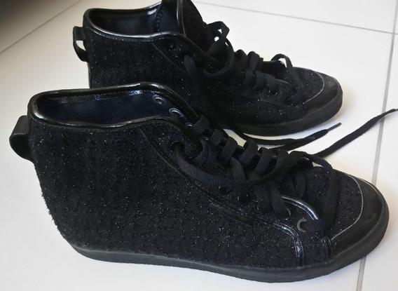 Tênis adidas Honey Mid Womens Preto S77292