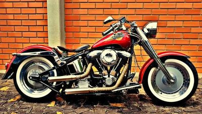 Harley Davidson Fat Boy 1994 1340cc Customizada E Exclusiva