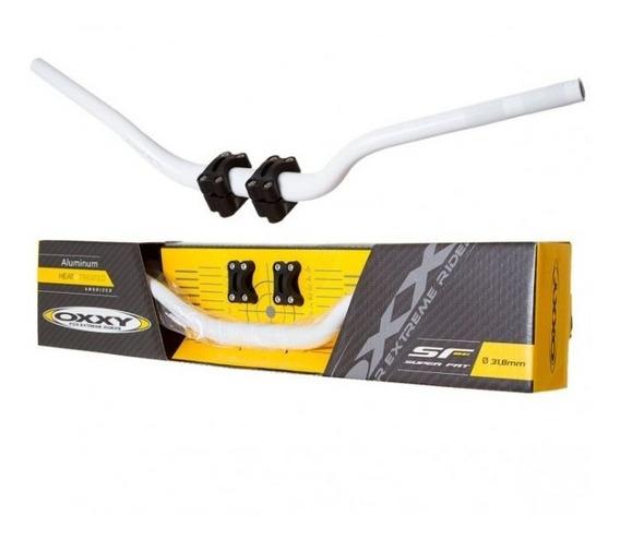 Guidão Oxxy Super Fat Bar Alto + Adaptador 31,8 Mm Cores