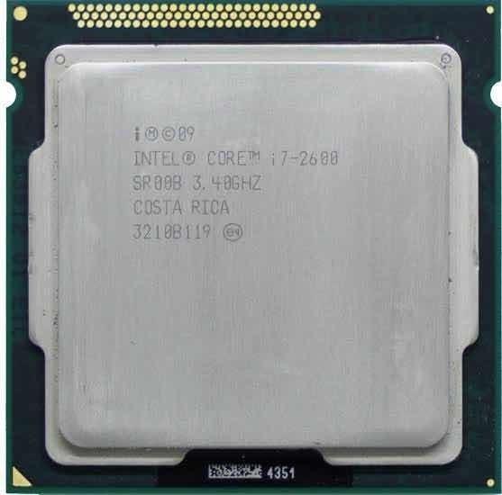 Processador Intel Core I7-2600 4 Núcleos