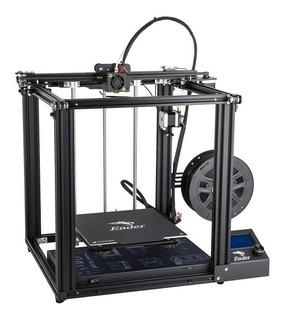 Impresora Creality 3D Ender-5 color negro 110V/220V con tecnología de impresión FDM