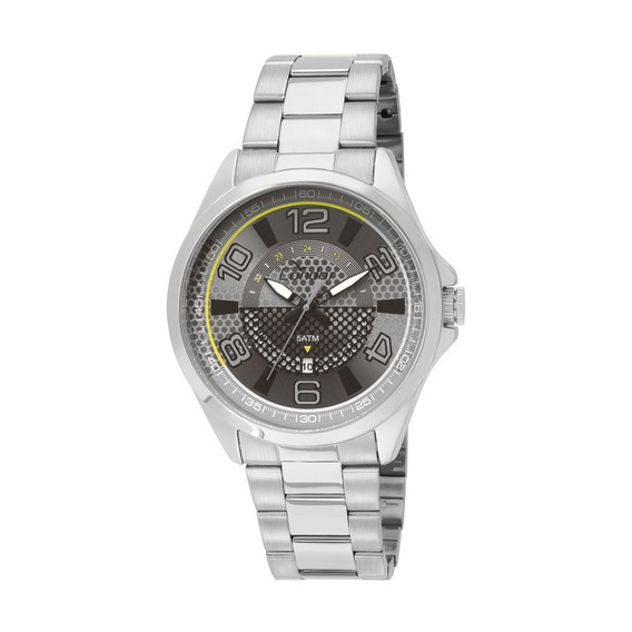 Relógio Condor Masculino Dourado Visor Preto Co2115xl 3c