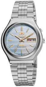 Relógio Orient Masculino Automático Aço Prata32995