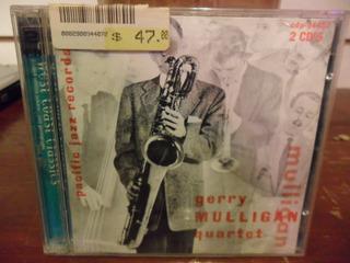 Gerry Mulligan Original Quartet & Chet Baker Cd Usa Eureka