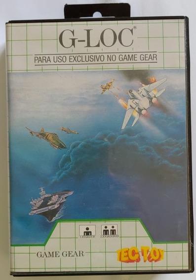 Jogo - G-loc - Game Gear - Relíquia De 1993 (27 Anos)