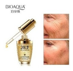 Bioaqua 24k Gold Essence Colageno Aceite Skin Antiedad