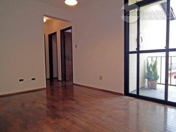 Apartamento Com 2 Dormitórios Para Alugar, 51 M² Por R$ 750,00 - Jardim Das Indústrias - São José Dos Campos/sp - Ap2267