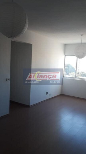 Apartamento Com 2 Dormitórios À Venda, 66 M² Por R$ 250.000,00 - Vila Rachid - Guarulhos/sp - Ai18962