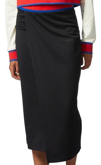 Falda Larga Originals Ea Skirt Mujer adidas Cv9434
