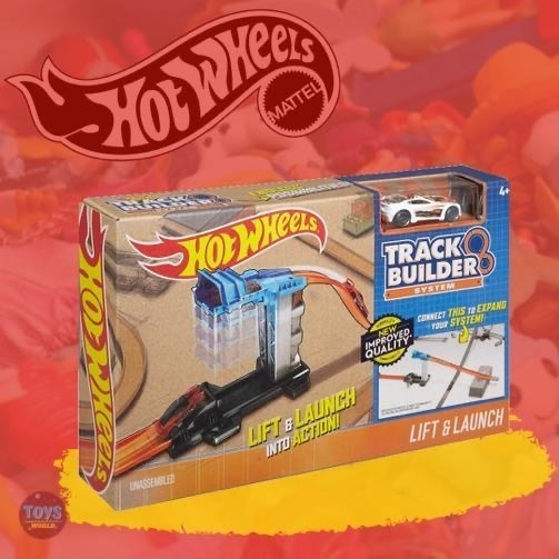 Pista Hotwheels Lift And Launch Original