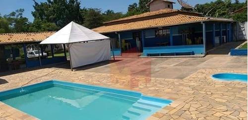 Chácara Com 2 Dormitórios À Venda, 2500 M² Por R$ 900.000,00 - Jardim Residencial Village - Limeira/sp - Ch0046