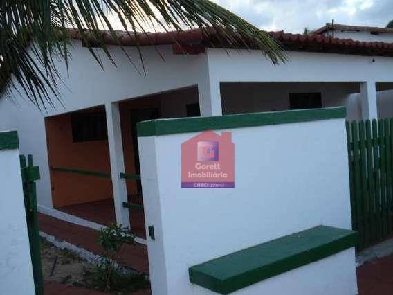 Casa Residencial Para Venda Praia De Tabatinga, V0655 - Ca0022