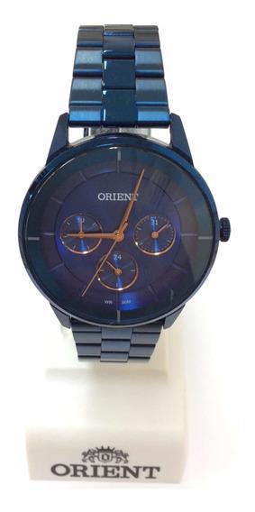 Relógio Feminino Orient Azul Moderno