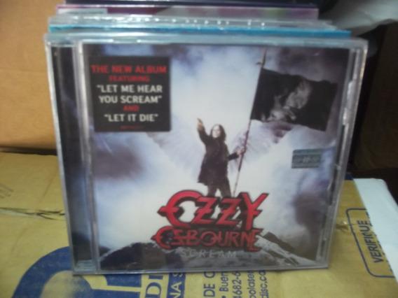 Ozzy Osbourne (cd Nuevo 2001) Scream