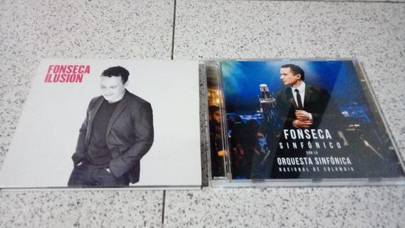 Lote Fonseca 2 Cd + Dvd (ilusión - Sinfónico)