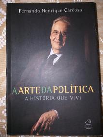 Autografado Presidente Do Brasil Fernando Henrique Cardoso