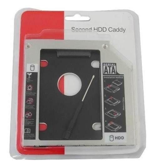 Adaptador Universal Caddy 2º Hd Ssd/dvd Notebook Drive Slim