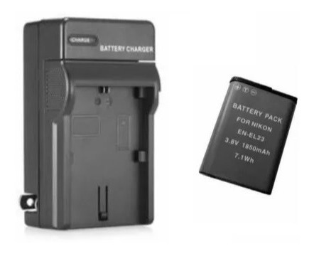Bateria + Carregador P/ Nikon Coolpix P610 P900 S810c B700