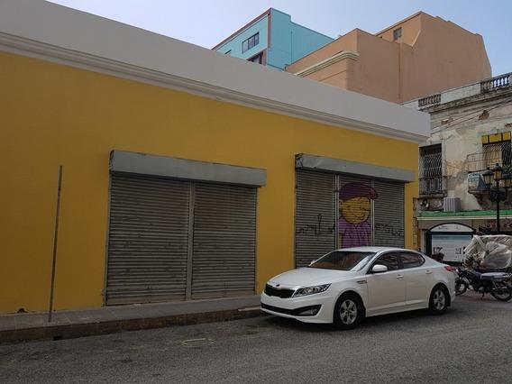 Alquilo Local De 55 M2, Próximo A Calle El Conde - Zona Colonial