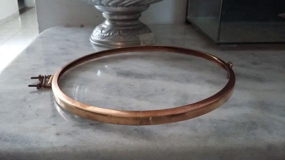 Aro De Relogio Antigo 18,5 Cm Com Vidro