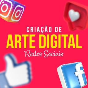 Criação De Arte Para Redes Sociais Premium Compre 3 Ganhe 1