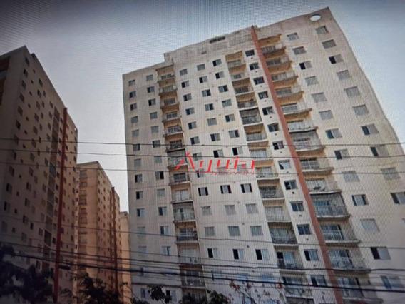 Apartamento Com 3 Dormitórios À Venda, 60 M² Por R$ 280.000,00 - Vila Homero Thon - Santo André/sp - Ap1466