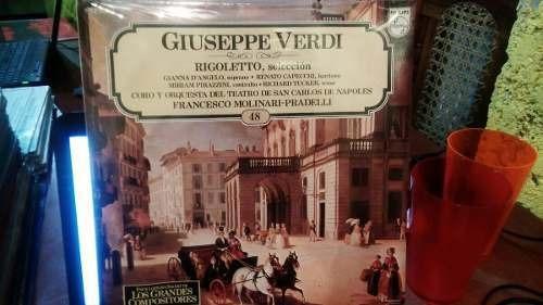 Imagen 1 de 2 de Lp Nuevo Sellado 1986 Verdi Rigoletto