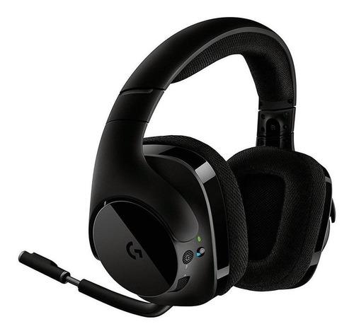 Imagen 1 de 4 de Auriculares inalámbricos Logitech G Series G533 negro