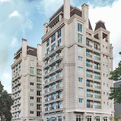 Apartamento Grande Pronto Para Morar 283m2 Face Norte 4 Suítes 4 Vagas Á Venda No Cabral - Ap1936