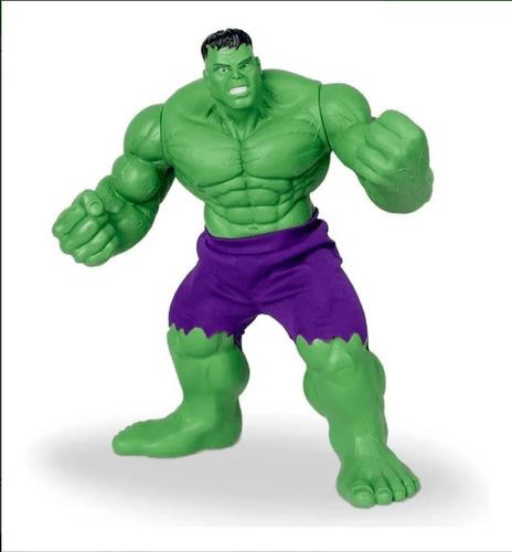 Boneco Hulk Verde Revolution Marvel Mimo