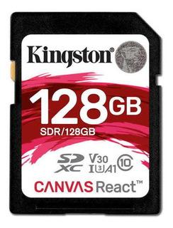 Cartao De Memoria Classe 10 Kingston Sdr/128gb Sdxc 128gb 1