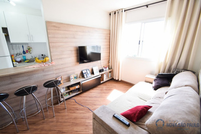 Jardim Celeste - Impecável - 2 Dormitórios - Repleto De Armários - Ja16629
