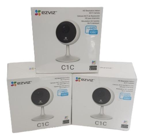 Cámara Seguridad Ezviz C1c Hd 1080p Wifi Interiores
