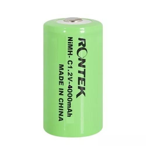Pilha Bateria Rontek 1,2v 4000mah Ni-mh Tamanho C - Unidade