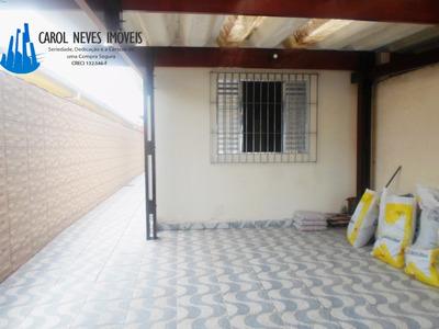 2792-casa Linda Espaçosa A 700 Metros Da Praia Em Mongaguá!