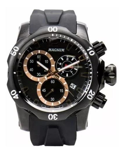 Relógio Magnum Masculino Cronógrafo Ma33755p Original Novo