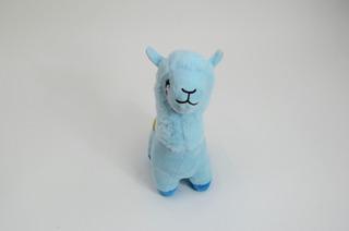 Tierna Llama Azul De Peluche 27cm 100% Poliester