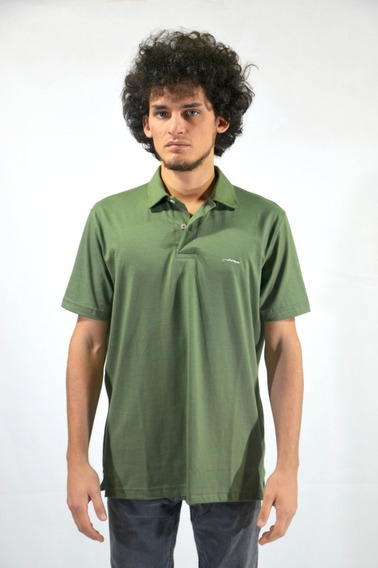 Chombas Mc Lisa Verde Hombre Pringamoza