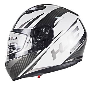 Casco Para Moto Hjc Cs15 Kane Certificado Acabado Fibra