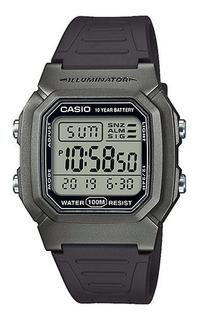 Reloj Casio Digital W-800hm-7 Wr100m Ag Oficial Garantia 2 Años, Casio Centro Envio Gratis!!