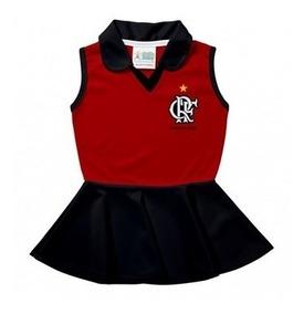 Vestido Polo Bebê Flamengo