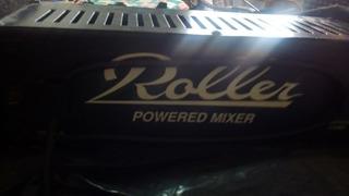 Consola Mixer Potenciada Roller 4 Canales