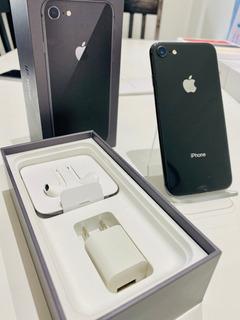 iPhone 8 64 Gb Negro Libre De Fabrica Perfectas Condiciones