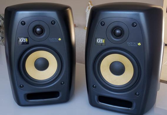 Krk Vxt 6 Monitor De Áudio Profissional Ativo (par)