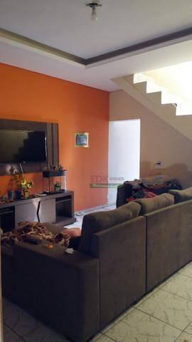 Imagem 1 de 6 de Sobrado Com 3 Dormitórios À Venda, 175 M² Por R$ 318.000 - Jardim Santa Rita Ii - Itaquaquecetuba/sp - So1995