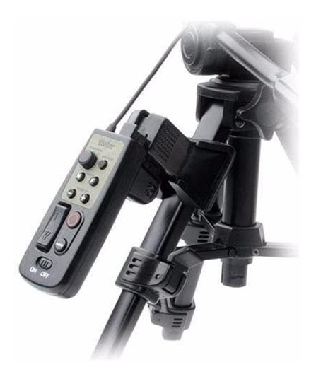 Controle Remoto No Tripé Para Filmadora Vivitar Rc-800