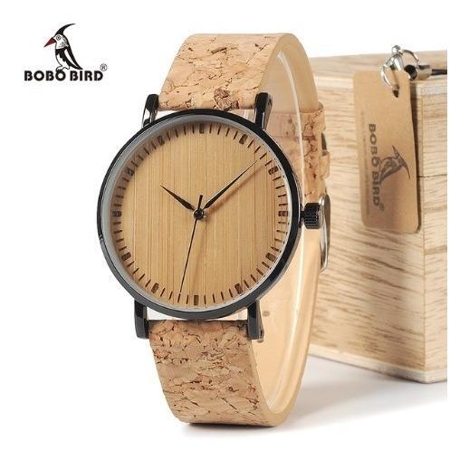 Relógio Feminino Bobo Bird Madeira Lançamento - Promoção